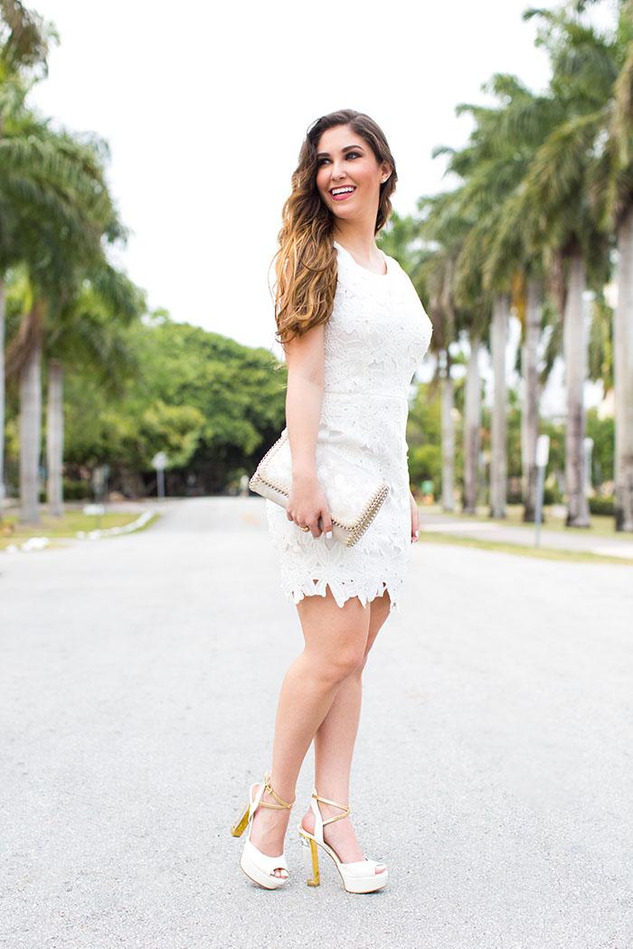 Cute Spring White Dress