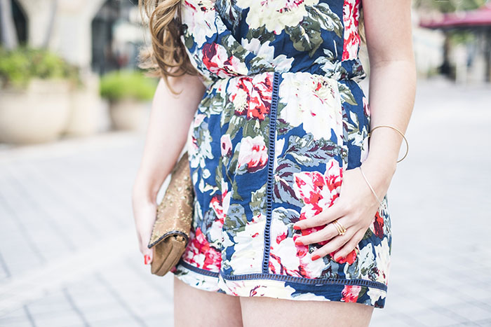 floral rompers