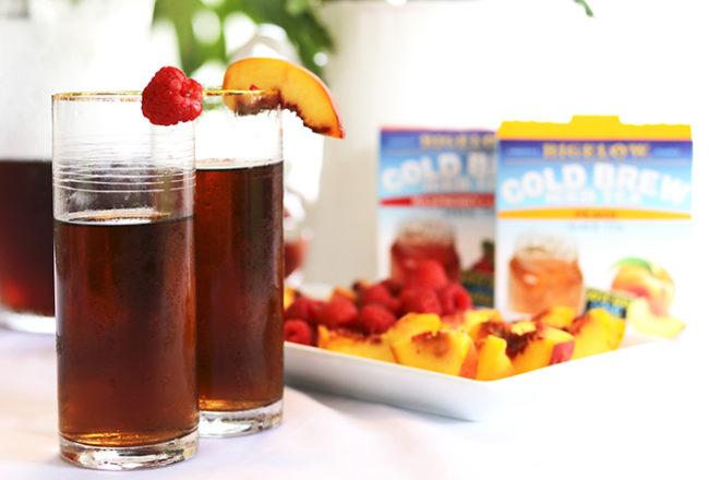 bigelow peach ice tea